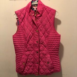 Hot Pink Lilly Pulitzer vest, size M